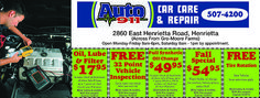 If you're having car problems, Auto 911 will provide the automotive vehicle maintenance you need! Specializing in car repair and care, located in Rochester, NY. Coupons for oil changes and a free 32 point inspection!