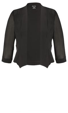 Shop the latest styles in plus size jackets at City Chic. Shop online now & stock up on your next go-to denim jacket, oversized blazer to fit your curvy figure in sizes Cropped Blazer, Blazer Jacket, Plus Size Outerwear, Outerwear Jackets, Jackets For Women, Clothes For Women, Work Clothes, Evening Outfits, City Chic