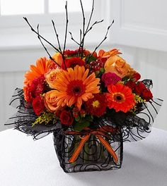ftd & teleflora fall arrangements | the ftd autumn bouquet ftd you re special autumn bouquet is a bright ... Goldberry's Florist & Gifts   81 Old Trolley Rd, Summerville, SC 29485  Toll Free: 800-392-9333