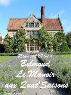 Raymond Blanc luxury lunch at Belmond Le Manoir aux Quat'Saisons Adventures of a London Kiwi Luxury Hotels, Luxury Travel, Shangri La Restaurant, Michelin Star, Kiwi, Most Beautiful, Around The Worlds, England, Lunch