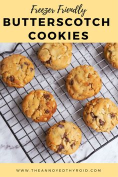 Baking these cookies is easy, the difficult part is trying not to eat them all in one go! Make some for now and freeze some for later!