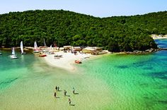 16 Alluring Places That Everyone Should Visit, Amazing beach in sivota, Epirus in greece Places To Travel, Places To See, Travel Destinations, Places Around The World, Around The Worlds, Greece Vacation, Greece Travel, Greece Tourism, Turquoise Water
