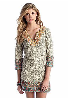 Lucky Brand Dashiki Dress. Perfect with leggings or skinny jeans in the classroom.