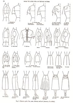 sewing - modeling - drawing technical clothing - corte e costura modelagem -desenho tecnico Diy Clothing, Sewing Clothes, Clothing Patterns, Sewing Patterns, Skirt Patterns, Coat Patterns, Dress Sewing, Blouse Patterns, Sewing Hacks