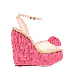 charlotte olympia fringe shoes. ridiculous / amazing.