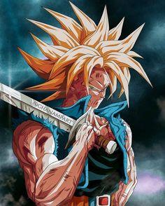 This is best trunks Foto Do Goku, Madara Wallpaper, Vegito Y Gogeta, Dragon Ball Image, Super Anime, Dbz Characters, Dragon Images, Art Anime, Z Arts