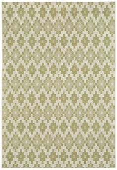 The Finesse Pueblo rug in celery is part of our Capel anywhere collection. The durability of this rug allows it to look great inside or out. #Capel_Rugs