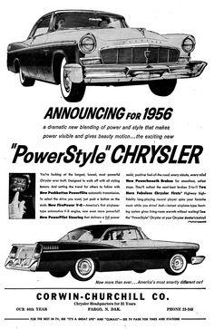 """""""PowerStyle"""" Chrysler 1956"""