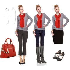 Red Accessories