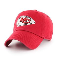 on sale 75287 a3613 NFL Kansas City Chiefs OTS Challenger Adjustable Hat, Red, One Size