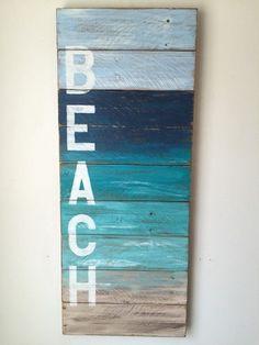 Playa decoración costera por shoponelove en Etsy                                                                                                                                                                                 Más