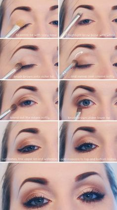 EVERYDAY NEUTRAL SMOKEY EYE TUTORIAL I recommend Younique's Eye pigments in Sexy, Irresistible and Innocent to get this look! www.mommusicmascara.com