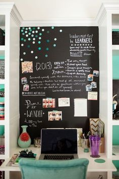 Chalkboard Paint … #homedecorideas