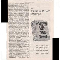 Vitage Laundry Detergent | Amazon.com: Fels-Naptha Soap Chips Laundry Detergent Home 1948 Vintage ...