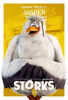 STORKS movie poster No.6 (Jasper/Danny Trejo)