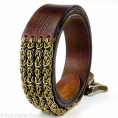 Chainmaille leather