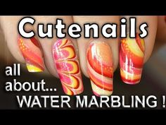 I decided to do a water marble nail art designs best of / review. In this tutorial, I will show you several tips and techniques to make a water marble design. I will also show you three types of water marble nail art designs : the simple design, the spiral and the mille-feuille. I've used specially spring / summer colors in these designs; you ca...
