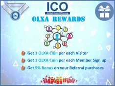 Attention our wonderful OLXA Fans!   You have asked us, We heard you. OLXA Coin has just launched unique Rewards for the early Entrepreneurs! Read more: https://www.olxacoin.com/2018/01/06/referral-rewards/  #OLXA #OLXA_Coin #Dubai #Crypto #Blockchain #Crypto_City #ICO #ICO2018 #OlxaCoin