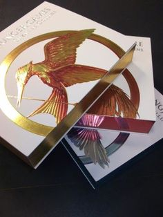 Luxury Edition of the Hunger Games books (in Australia/New Zealand). They are quite lovely and VERY shiny in person. :)