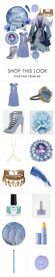 """""""Style Sorceress"""" by loadersara ❤ liked on Polyvore featuring Maria Lucia Hohan, Armenta, Gucci, Agent Provocateur, Elizabeth Cole, Eyeko, Ciaté, Lipstick Queen, My Kit Co. and The Gypsy Shrine"""