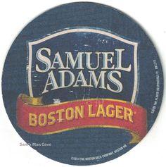 Samuel Adams Boston Lager, Beer Coasters
