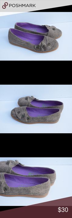 Blowfish Malibu flats Blowfish Malibu flats Textile upper.  Rubber soles Size 10 Minor wear to soles(pic) In excellent condition Blowfish Shoes Flats & Loafers