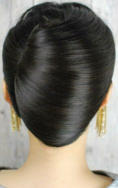 Big Bun, Beautiful Braids, Hair Dos, Bun Hairstyles, Updos, Japan, Fashion, Up Dos, Up Dos