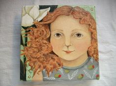 Olivia Magnolia by GardenGloves7 on Etsy, $35.00