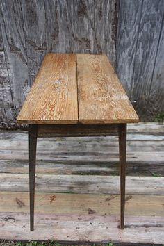 Console With Images Table Reclaimed Wood Table Build A Table