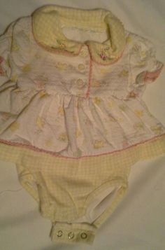 Baby Girl Yellow One Piece Outfit - 6 Months #Everyday