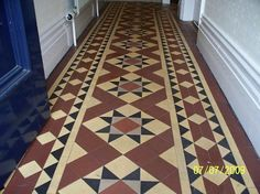 One day, I WILL have Minton tiles in my hallway!