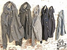 Mister Freedom. Coolest vintage American workwear - MF® Cotton Sack Coat wall rig1