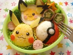 Japanese character lunch box - Japanese mothers are very creative to make awesome lunch for their kids