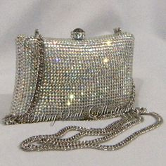 846e7ad0e3c4 Shop now for Silver AB Crystal Clutch Bag. Now also get huge discounts on  all clutches and prom purses here at our online store.