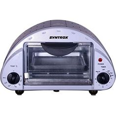 Syntrox Germany Back Chef 5 Liter Mini Stand Backofen Miniofen Minibackofen Pizzaofen