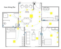 Easy To Use Home Wiring Plan Software With Pre Made Symbols And Templates Help Make Accurate Quality House