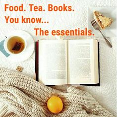Food. Tea. Books. Yo
