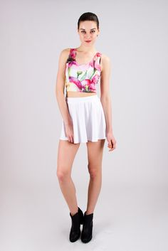 This Flower Racer Back Top can be found on the No. 1 Women's Clothing Designs platform... PINKCESS. Hot and youthful fashion... without borders! http://www.pinkcess.com/watercolor-flower-racer-back-crop-top_p79808711   #pinkcess #top #racerback #fashion #flower