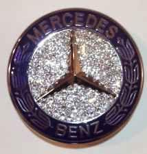 Mercedes Benz OEM Front Hood Badge Bling Logo Emblem With Swarovski Crystals