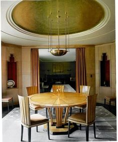 art deco dining room. | Home Design/Architecture | Pinterest