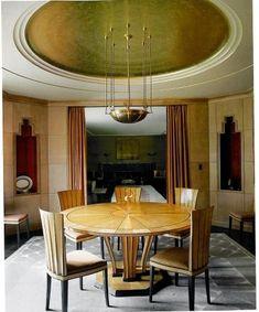 art deco dining room. | Home Design/Architecture | Pinterest