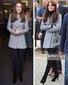 royalroaster:  Duchess of Cambridge in Reiss 'Delaney' jacket 2013, 2015