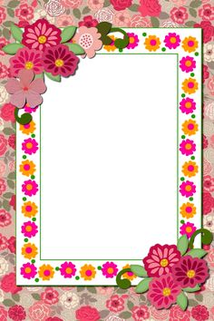 Flower Background Images, Flower Backgrounds, Art Floral, Baby Gift Wrapping, Frame Border Design, Boarders And Frames, School Frame, Framed Wallpaper, Borders For Paper
