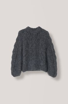 Exclusive Italian hand-knitted pullover knitted by local Italian women from the South of Tuscany. It takes three days to knit one sweater, and due to Hand Knitted Sweaters, Mohair Sweater, Oversized Sweaters, Oversized Tops, Women's Sweaters, Handgestrickte Pullover, Sleeveless Cardigan, Winter Sweaters, Cardigans For Women