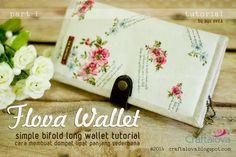 photo by ayu ovira 2014  Flova Wallet Part 1 (Bagian Pertama dari 2 Bagian)  Simple bifold long wallet tutorial  Cara membuat dompet lip...