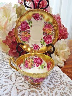 Vintage Adderley Bone China Teacup