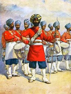 45th Sikhs. 1870s. Second Afghan War