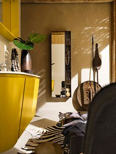 Maori: Gorgeous Yellow Bathroom Vanity by Cerasa: http://www.cerasa.it/preview_composizione.php?Main=1=9