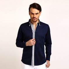 A great way to look stylish with YELL: This classic formal shirt is an ideal choice for a smart formal wear.