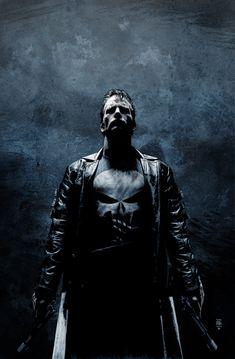 The Punisher by Tim Bradstreet